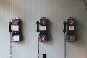 Klassische Telefone